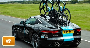F-Type R Coupé Team Sky