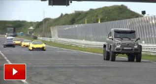 El Mercedes G63 AMG 6x6 también vale para circuito