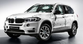BMW X5 F15 Security Plus, a prueba de balas