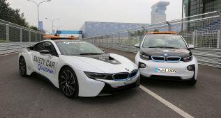 El BMW i8 es el coche de seguridad de la Fórmula E