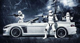 """""""Que la fuerza te acompañe, BMW M6 Cabrio"""""""