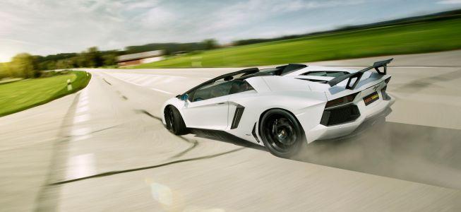 El Lamborghini Aventador Roadster de Novitec Torado