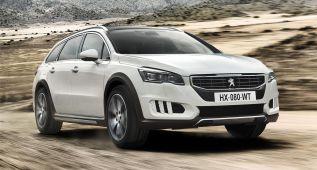 Peugeot actualiza el 508 RXH