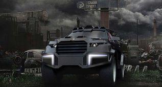 El Dartz Prombron Black Shark es un tanque de calle