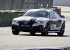 El Audi RS7 autopilotado, ahora en movimiento