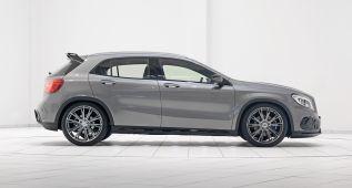 Brabus potencia el Mercedes GLA 45 AMG hasta los 400 CV
