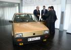 Seat restaura el primer coche del Rey, un Ibiza 1.5 de 1986