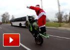 Este año Papá Noel cambia los renos por las dos ruedas