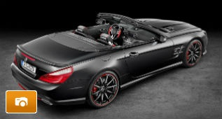 Mercedes SL 417 Mille Miglia special edition package