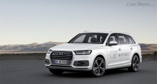 Audi Q7 e-tron: híbrido, enchufable, diésel y bestia