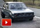 A este Volkswagen Golf Mk.1 de 1.000 CV no le tose nadie