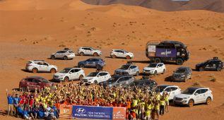 La caravana del Desierto de los Niños vuelve a Marruecos