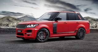 Startech transforma un Range Rover en un pick-up