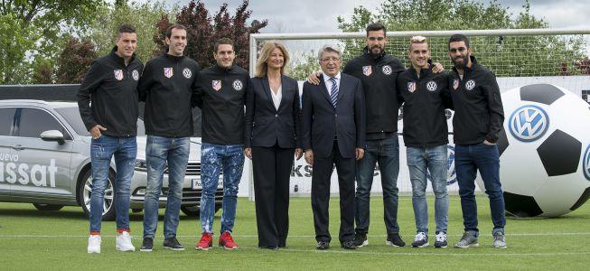 Volkswagen y el At. Madrid renuevan su patrocinio