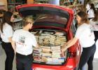 ¿Cuántos libros caben en el maletero de un coche?