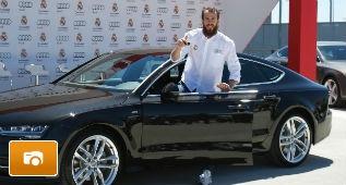 Audi entrega sus coches al Real Madrid Baloncesto