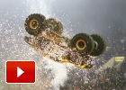 Por primera vez: doble backflip con un Monster Truck