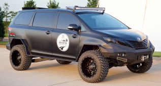Toyota Ultimate Utility Vehicle, el lado duro del monovolumen