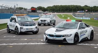 BMW vuelve a ser vehículo oficial de la Fórmula E