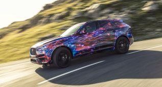 El Jaguar F-PACE recibe tecnología del F-Type