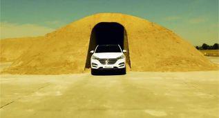 """El Hyundai Tucson se enfrenta a una """"trampa de arena"""""""