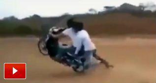Una de fails en moto