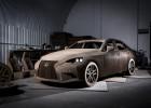 El Lexus IS de cartón a tamaño real… ¡que funciona!