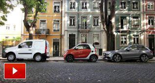 ¿Y si los coches estacionados se encogieran al aparcar?