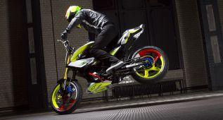 BMW Concept Stunt G 310, piruetas alemanas