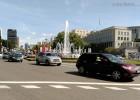 Peatones, bicicletas, motos y coches ante el tráfico urbano