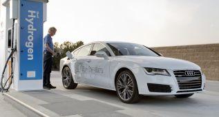 "Audi A7 Sportback h-tron, con ""h"" de hidrógeno"