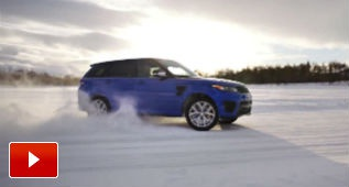 Silverstone, un lago helado y el Range Rover más potente