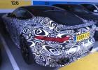 El Jaguar F-Type SVR camuflado, cazado en Sitges