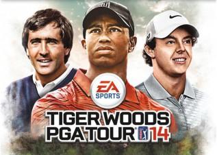 Ballesteros, imagen de la portada del Tiger Woods PGA