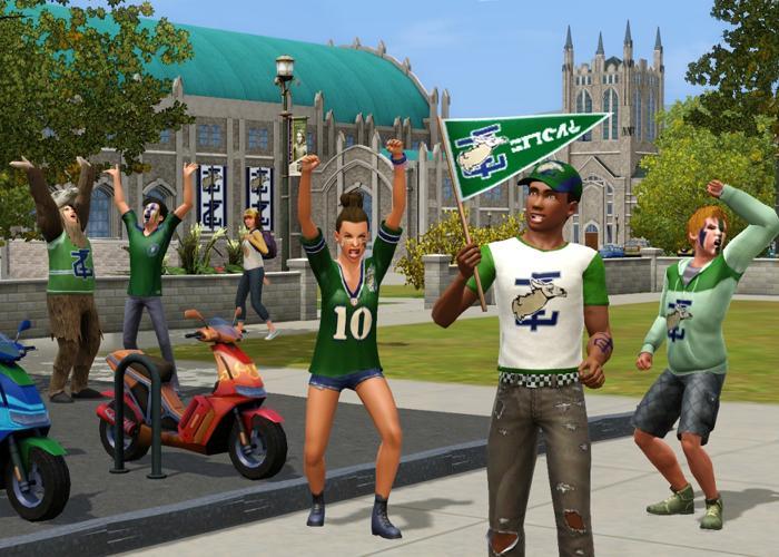 Los Sims 3 Movida en la Facultad, pack de expansión