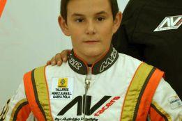 Daniel Maciá lucha por el Nacional de karting
