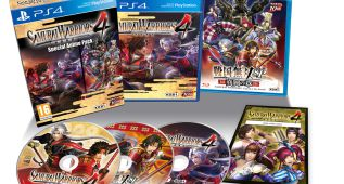Edición Samurai Warriors 4: Special Anime Pack