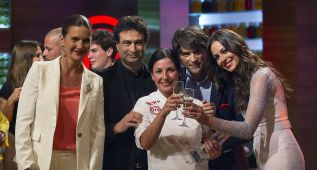 'Vicky' gana en la final de 'Master Chef' y bate record de audiencia