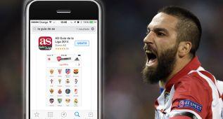 Sigue la Liga de Fútbol, gratis, desde tu mano, con la App de AS