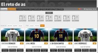 El 'Reto de AS', un desafío para futboleros y visionarios