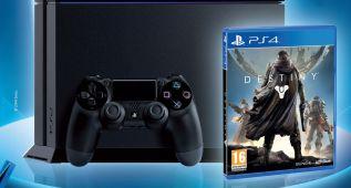 El pack de PlayStation 4 y Destiny a la venta por 399€