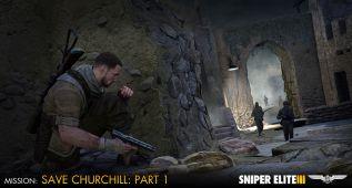 Primer DLC de Sniper ELite 3: Save Churchill: Parte 1