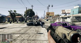 Así se ve el mundo de GTA en primera persona (vídeo)
