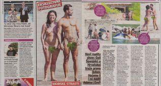 'Adán y Eva' pillados en pelotas por los paparazzi croatas