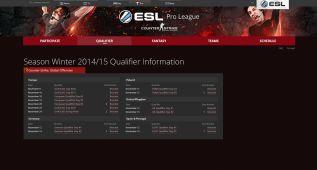 Hoy comienza la ESL Pro League