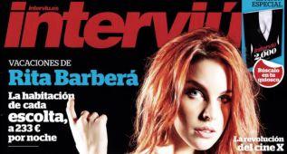 Amarna Miller, la revolución del cine X, portada de 'Interviú'