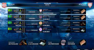 FX Fútbol 2015: el sistema de fichajes es sencillo y accesible