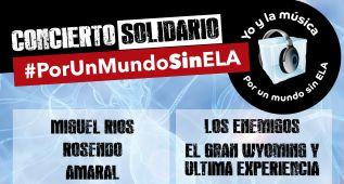 La música española se une en el concierto #PorUnMundoSinELA