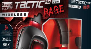 Sound Blaster Tactic3D Rage V2.0, cascos para PS4 y Xbox One