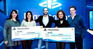 PlayStation dona 117.108 euros a Unicef y Juegaterapia